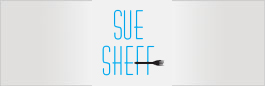 logo for Sue Sheff
