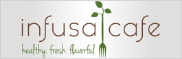 logo for Infusa Cafe