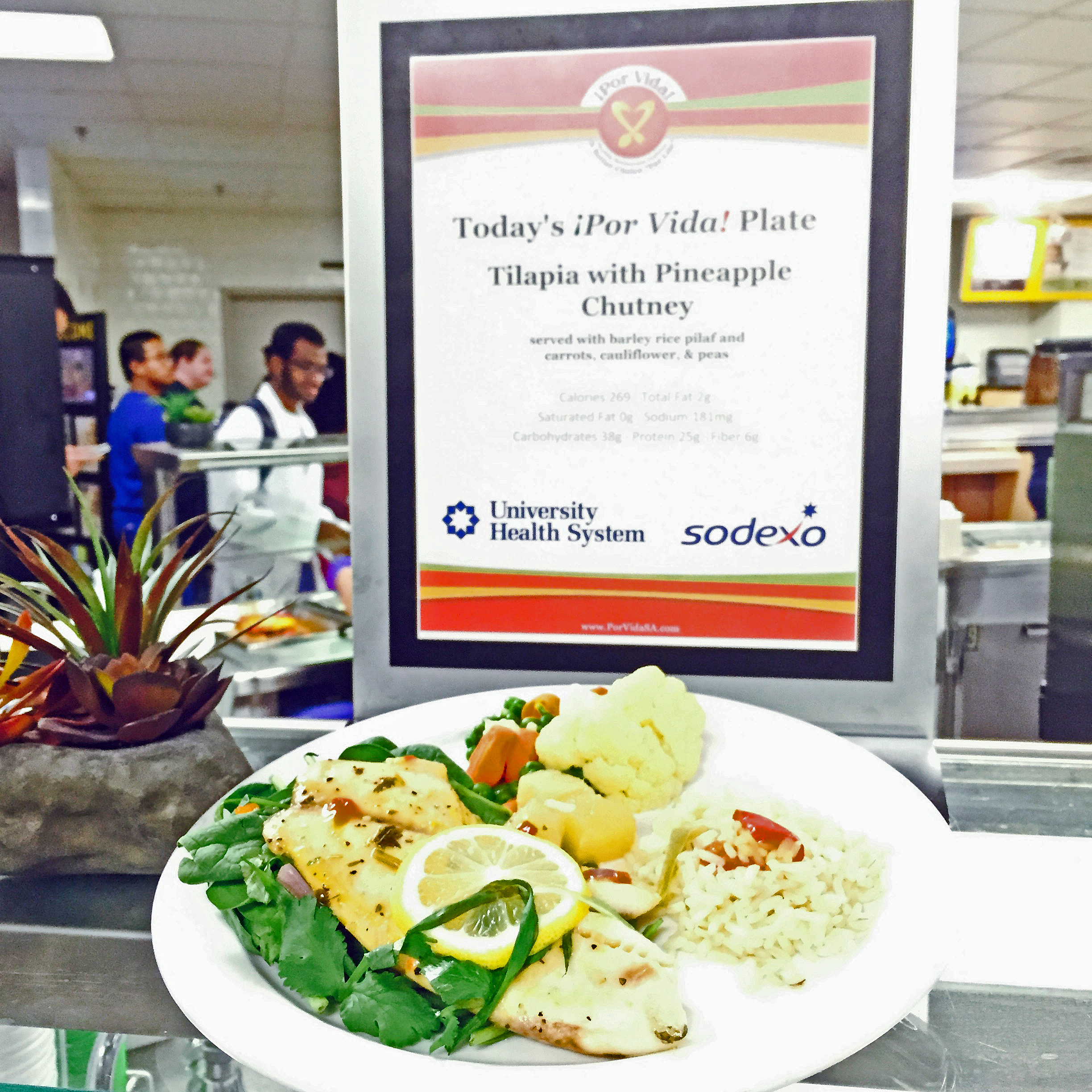 A Familiar Dish Returns to the University Hospital Cafeteria